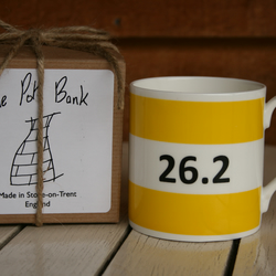 26.2 Hoop Mug Gift Boxed (choice of ten colours)