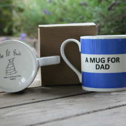 A Mug For Dad Hoop Mug Gift Boxed (choice of ten colours)