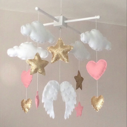Angel Wings Baby Mobile