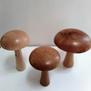 Three Wooden Mushrooms 901