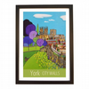 York City Walls - black frame