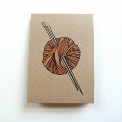 knitting illustrated 100% recycled pocket notebook