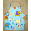 Child's apron bright Elephant print