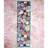 Fabric bookmark - Cotton reels