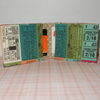 Travel card wallet Vintage tickets