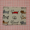 Travel card wallet Japanese cats