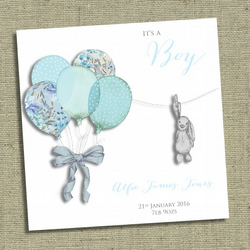 Personalised NEW BABY Boy card It's a Boy!!!