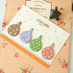 Cocoro Raindrops colourful sticky notes