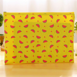 Yellow Summer Fruits File Bag