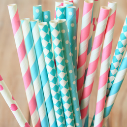 Disneys Frozen mix set paper straws