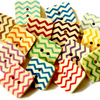 15 Square Chevron Buttons