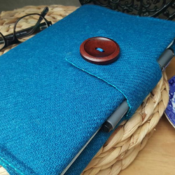 Harris Tweed book cover, sketchbook sleeve, diary cover, notebook, journal cover