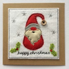 Christmas Gnome Card - Red
