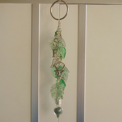 'Sales Fairy' Good Luck Keyring