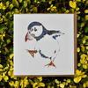 'A Huffin and a Puffin' Greeting card