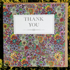 Thank you floral doodle card