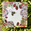 Beautiful walled garden inspired greeting card