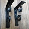 heavy duty shelf brackets...........Wrought Iron (Forged Steel) Custom Made