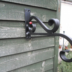 Heavy Duty Hanging Bracket....................Wrought Iron (Forged Steel)