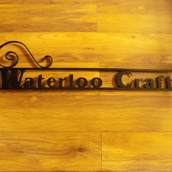 Custom Made Sign Arm............................Wrought Iron (Forged Steel)