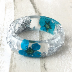 Resin ring-statement ring-resin jewellery-stacking ring