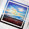 Art greeting card Big Sky Sunrise from my original painting