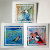Set of 3 art greeting cards British wildbirds from my original paintings