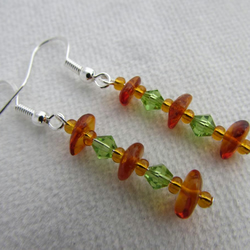 Baltic Amber Earrings, Amber Earrings, Amber Jewellery, Amber Jewelry, Amber