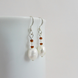 50% off all items with code SALE17 Freshwater Pearl Earrings, Freshwater Pearl