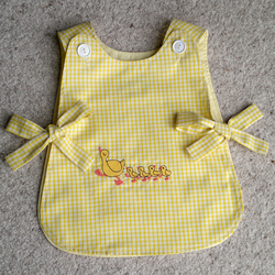 Tabard Apron with Duck Family