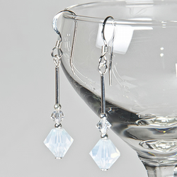 SALE! Crystal earrings, Swarovski® bridal earrings, Wedding or Prom jewellery