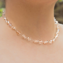 SALE! Swarovski® Crystal necklace, Bridal jewellery, Wedding necklace, Prom