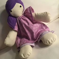 Beautiful handmade, original,18 inch cloth doll, rag doll, girls, gift, soft toy