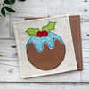 SALE! Christmas Pudding Coasters,Set Of Two