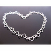Sterling Silver Heart Bracelet for Kids 6.5 inches