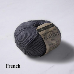 Erika Knight Gossypium Cotton French 50g