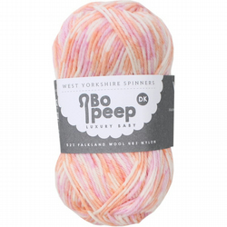 West Yorkshire Spinners Bo Peep Luxury baby yarn 50g Hopscotch
