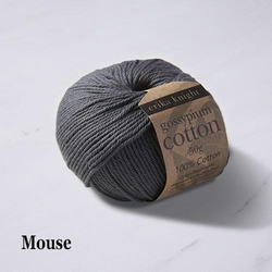 Erika Knight Gossypium Cotton Mouse 50g