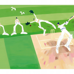 Cricket - This Sporting Life - High quality Fine Art print