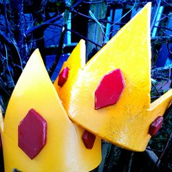 Ice King Crown. Inspired by Adventure Time.