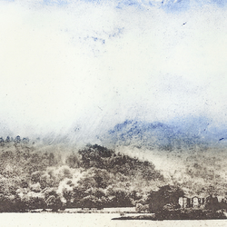 Ullswater by Barbara Smith - photopolymer etching photographic