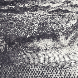Textures by Barbara Smith - acrylic resist etching wet ground soft ground