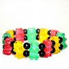 Resin gummy bear bracelet
