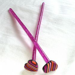 Young Hearts Run Free Sparkly Knitting Needles
