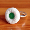 Polo Mint resin Ring - Spearmint