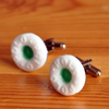 Polo Mint resin Cufflinks- Spearmint