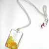 Refreshing citrus necklace