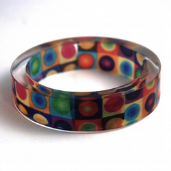 Emma's mobile disco bangle (medium)