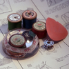 Haberdashery resin paperweight