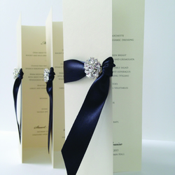 Maia wedding Menu